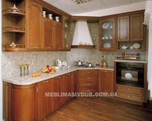 Кухня Арена з масиву дуба Івано-Франківськ