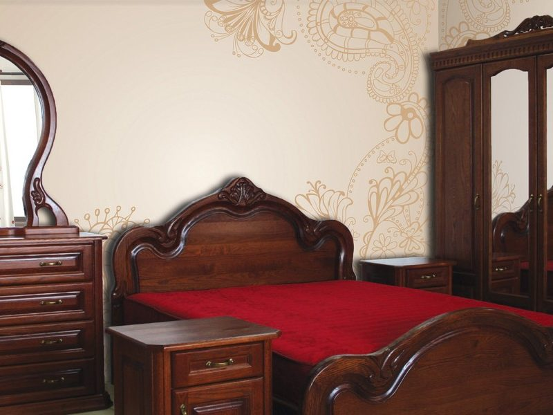 Спальня Б'янка з масиву дуба