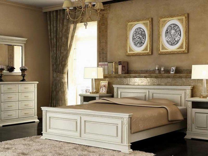 Спальня Жасмін з масиву дуба