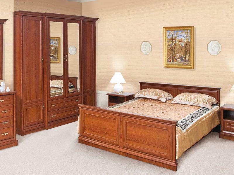 Спальня Кантрі з масиву дуба