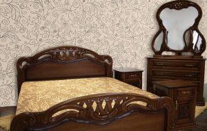 Спальня Кармен з масиву дуба Івано-Франківськ