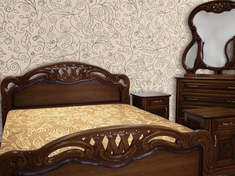 Спальня Кармен з масиву дуба