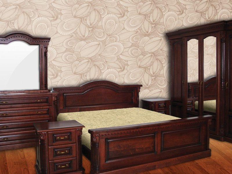 Спальня Маестро з масиву дуба