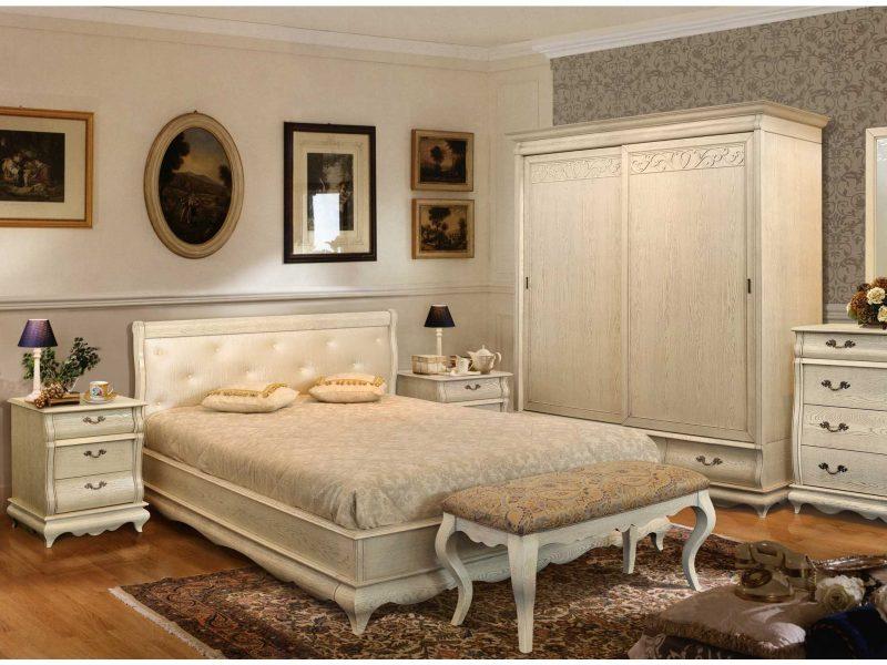Спальня Оскар з масиву дуба