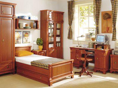 Спальня Романтік з масиву дуба