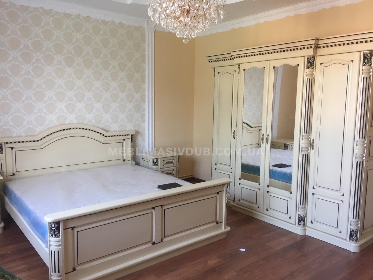 Спальня з дерева Івано-Франківськ ~ Меблі з масиву дуба de7c09ecd7675