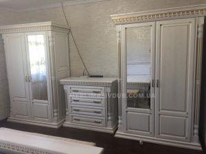Спальня з дерева біла Івано-Франківськ